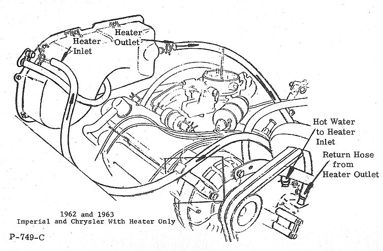 chrysler 300 heater hose diagram  chrysler  auto parts